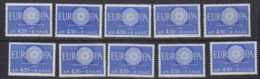 Europa Cept 1960 Greece 1v (10x) ** Mnh (44912) - 1960