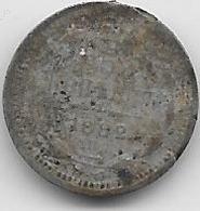 Russie - 5 Kopeks - 1882 - Argent - Rusia