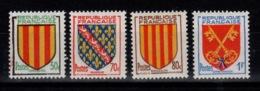 YV 1044 à 1047  N** Complete VIII Armoiries De Province - France