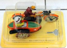 Réédition FER BLANC Side-Car 1920 Mécanique - NEUF Sous Blister - Motorcycles