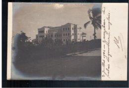 TANZANIA Zanzibar Le Palais Du Gouverneur Anglais 1904 Real Photo - Tanzania