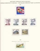 DDR - 1989 - Sammlung - Gest. - DDR