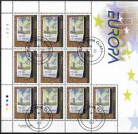 2003  Irland  Mi. 1499-1500 **MNH Europa: Plakatkunst - 2003