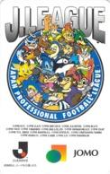BD - DESSIN - MANGA - SPORT - MASCOTTE -  FOOTBALL - Télécarte Japon - Comics