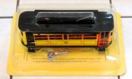 Réédition FER BLANC Tramway 1920 Mécanique - NEUF Sous Blister - Scale Models