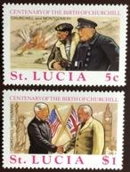 St Lucia 1974 Churchill MNH - St.Lucia (...-1978)