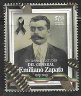 MEXICO, 2019, MNH,  EMILIANO ZAPATA, 1v - Otros