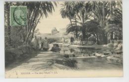 AFRIQUE - TUNISIE - TOZEUR - Vue Dans L'Oasis - Tunisie