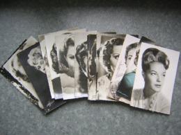 LOT DE 15 CARTES - ARTISTES - B. BARDOT, ROMY SCHNEIDER...... - Artistes