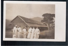 TANZANIA Benedicktine Mission, Njombe, Via Dar- Es- Salam 1940 Old Photo Postcard - Tanzania