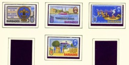 BARBADOS  -  1969 Scouts Set Unmounted/Never Hinged Mint - Barbados (1966-...)