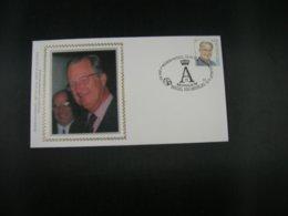 """BELG.1999 2840 FDC's Soie/zijde (Brus) : """" ALBERT II """" - 1991-00"""