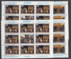 Europa Cept  1998 Yugoslavia 2v  Sheetlets (2x)  ** Mnh (44913) FESTIVAL PRICE - 1998