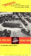 Catalogue FLEISCHMANN 1962 HO 1/87 Folder  - En Suédois - Livres Et Magazines
