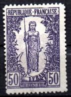 Col17  Colonie Congo Variété 1 Brin N° 37 Neuf X MH  Cote 55,00€ - Neufs