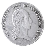 Ausztria 1804. 'I. Ferenc - Az Osztrák Császári Cím Megalapítása' Ag Zseton (2,2g/20mm) T:2 /  Austria 1804. 'Franz I -  - Zonder Classificatie