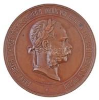 Ausztria 1873. 'Bécsi Világkiállítás / Az érdem Jeléül' Br Emlékérem. 'FRANZ JOSEPH I. KAISER VON OESTERREICH, KOENIG VO - Zonder Classificatie