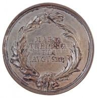 Habsburg Birodalom / Erdély 1765. Emlékérem A Polgári Törvények Reformjára Ezüstözött Br Emlékérem (69,89g/59mm) 'MARIA  - Zonder Classificatie
