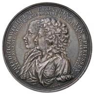 Német Államok / Poroszország 1793. 'Frigyes Vilmos Koronaherceg és Lujza Mecklenburg-strelitzi Hercegnő' Jelzetlen Ag Em - Zonder Classificatie