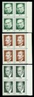 Liechtenstein 1968 Philately Pioneers,Rowland Hill,Ferrary,Burrus,Mi.503,MNH - Rowland Hill