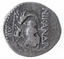 Illíria / Apollónia Kr. E. 229-100. Nikandrosz és Andriszkosz Drachma Ag (3,16g) T:2- /  Illyria / Apollonia 229-100. BC - Zonder Classificatie