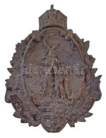 1896. '896-1896' Milleniumi Br Lemezjelvény (55x41mm) T:2 / Hungary 1896. '896-1896' Br Sheetmetal Badge For The Hungari - Zonder Classificatie