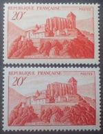 R1949/1189 - 1949 - SAINT BERTRAND DE COMMINGES - N°841A  NEUFS** ☛ Papier Jaunâtre Et Papier Blanc - Neufs