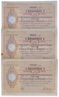 Románia / Satu-Mare (Szatmár) 1922. 'Szatmár Vármegyei Takarépénztár Részvénytársaság' Névre Szóló Részvénye 600L-ről (3 - Zonder Classificatie