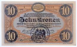 Zalaegerszeg / Hadifogolytábor 1916. Augusztus 15. 10K Arab Sorozat- és Sorszámmal, 35mm-es Fekete, Körbélyegzéssel T:I  - Zonder Classificatie