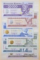 2012. 500K 'Balatoni Korona' Helyi Pénz, '004709' Sorszámmal + 2012. 1000K 'Balatoni Korona' Helyi Pénz, '004709' Sorszá - Zonder Classificatie