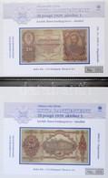 2005-2008. 46db Klf Emlékív Ritka Magyar Bankjegyekről Albumba Rendezve T:I,I- /  Hungary 2005-2008. 46pcs Of Diff Souve - Zonder Classificatie