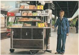 1955138Charles Burki (1909-1994) Ill. 27 Consumptiewagentje / From: De Kilometerkampioen.(REPRO) - Trains