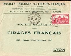 Société Générale Des Cirages Français Propriétaire Des Forges D'Hennebont ( Morbihan ). Lyon . 1937 - Frankreich