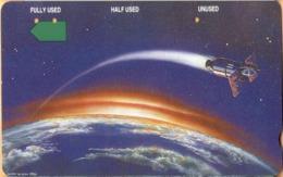 Christmas Island - Telstra, Anritsu, Satellite Orbiting The Earth, 20 $, 2,000ex, 10/93, Used - Christmas Island