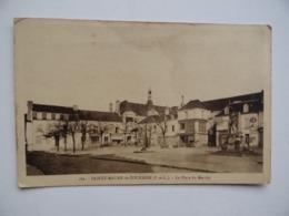 37 SAINTE-MAURE-de-TOURAINE Place Du Marché N°182 édition M.Desmé Ste-Maure - Frankreich
