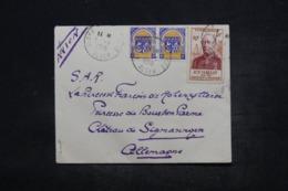 ALGÉRIE - Enveloppe De Alger En 1956 Pour L' Allemagne , Affranchissement Plaisant - L 44302 - Covers & Documents