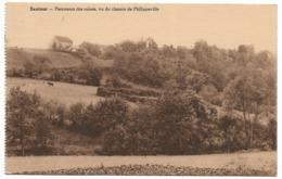 CPA PK  SAUTOUR  PANORAMA DES RUINES  VU DU CHEMIN DE PHILIPPEVILLE - Belgique