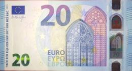 EURO ITALIEN 20 S007A DRAGHI, UNCIRCULATED - EURO