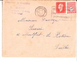 Entreprise De Menuiserie E. Bigot. Le Mans à M. Davaze Scierie à Montfort Le Rotrou. 1945. - Frankreich