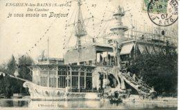 CPA -  ENGHIEN-LES-BAINS - CASINO (1907) - Enghien Les Bains