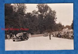 Photo Ancienne - RAMBOUILLET - Les Habitants Accueillent Le Président De La République Albert LEBRUN Au Château - 1932 - - Automobiles