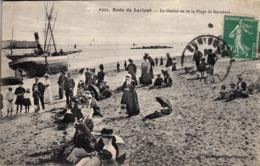 Thematiques 56 Morbihan Lorient Rade Lorient Le Goulet Vu De La Plage De Kernével Timbré Cachet - Lorient