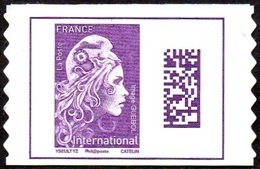 France Autoadhésif N° 1656 ** Marianne L'Engagée - Datamatrix International PRO - Francia