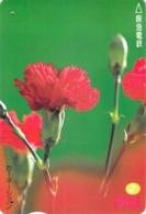 FLEUR - FLOWER - Carte Prépayée Japon - Blumen