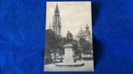 Antwerpen Hoofdkerk En Rubens Standbeeld Belgium - Antwerpen