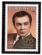 Azerbaijan 2012 . Singer Muslim Magomayev - 70th Ann. 1v: 50qep.  Michel # 944 - Azerbaiján