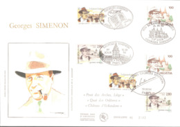FDC N° 2911 Georges SIMENON Emission Commune - FDC