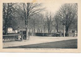 CPA - France - (34) Hérault - Lodève - Le Parc - Le Monument Aux Morts - Lodeve