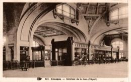 LIMOGES INTERIEUR DE LA GARE - Limoges