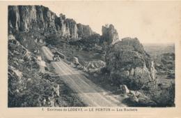 CPA - France - (34) Hérault - Lodève - Le Pertus - Les Rochers - Lodeve